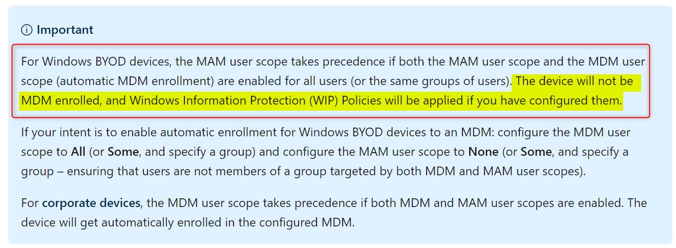 Set up enrollment for Windows devices